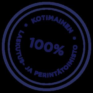 100 % kotimainen laskutus- ja perintätoimisto