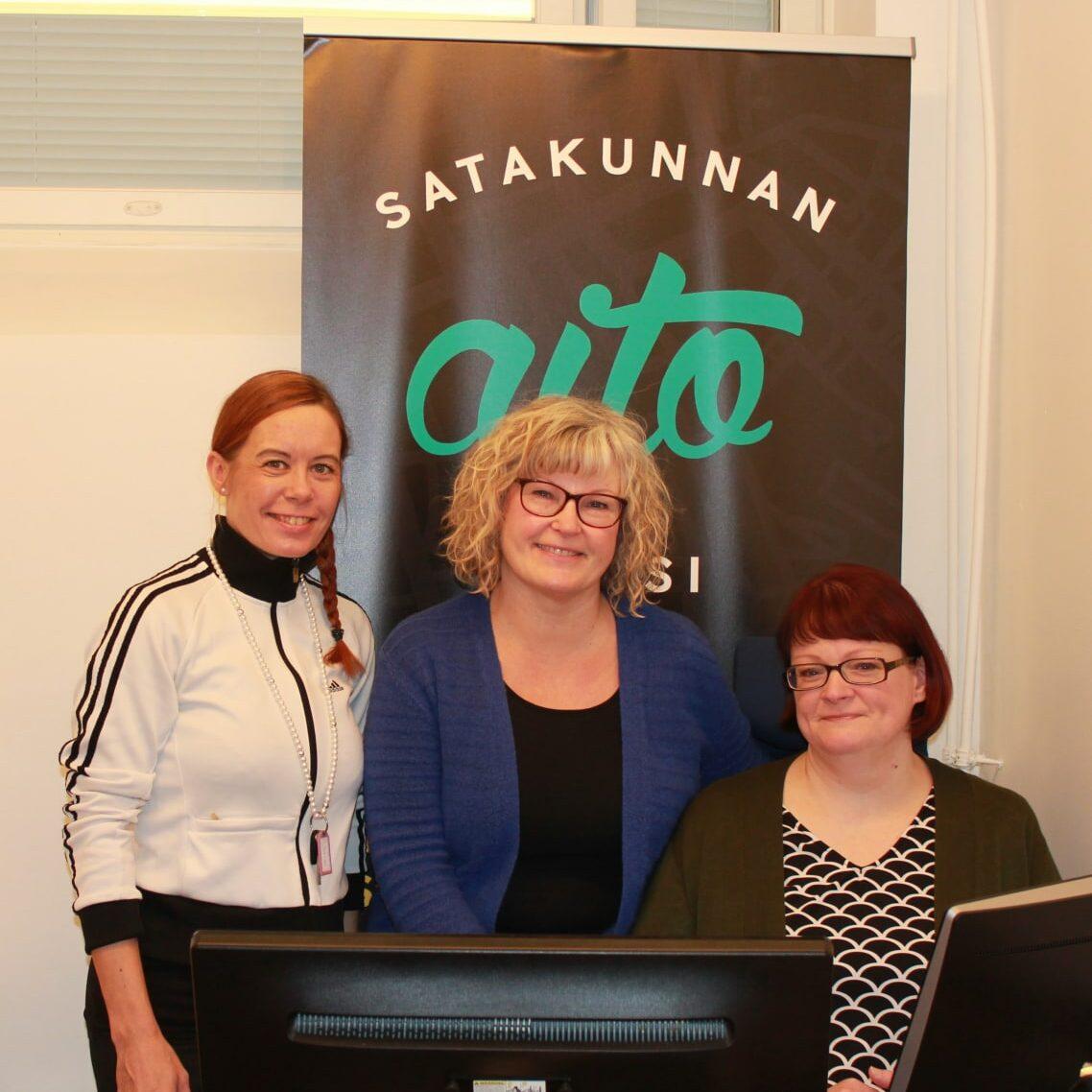 Salla Härmä, Kirsi Reimakoski ja Kirsi Granfors